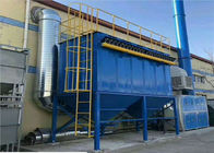 Industri Pulse Bag Baghouse Filtrasi Boiler Dust Collector 4200m3 / H Aliran Udara